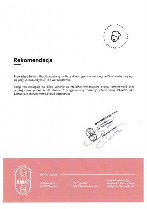 O firmie MTM Bracia rekomendacja 297x421