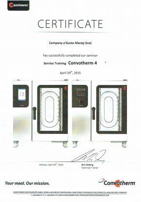 Certyfikaty certyfikat convotherm 4 agusto 290x414