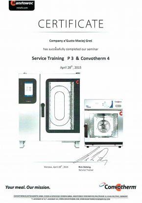 Certyfikaty certyfikat p3 convotherm 4 agusto 290x414