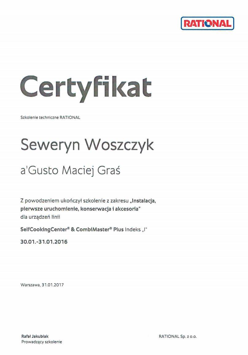 O firmie certyfikat rational 808x1154